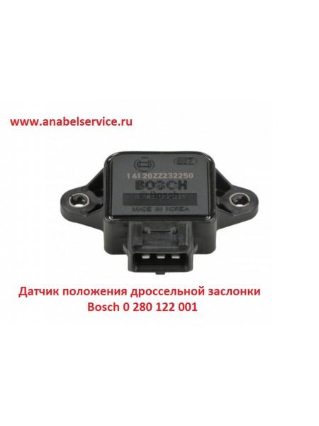 Датчик положения дроссельной заслонки Bosch 0 280 122 001