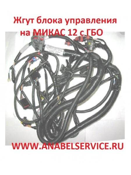 Жгут блока управления на МИКАС 12 с ГБО